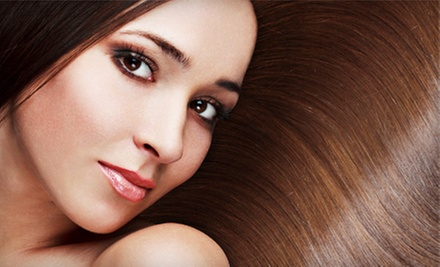 Haircut and Reconstructive or Malibu Treatment with or without Partial Highlights at Holt Hair and Nails (Up to 59% Off)