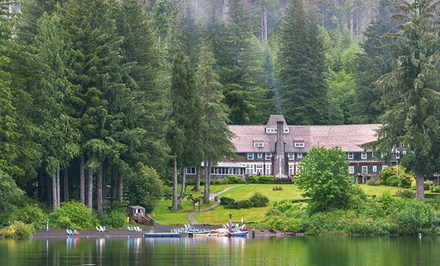 1- or 2-Night Stay for Two at Lake Quinault Lodge in Quinault, WA