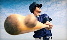 One or Three Batting Sessions, One or Two Batting Lessons, or a Party at 5-Tool Sports Training Center (Up to 55% Off)