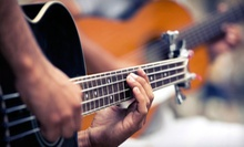 Two, Four, or Six 30-Minute Private Guitar, Piano, Bass, or Ukulele Lessons at Guitar Cities New York (Up to 58% Off)