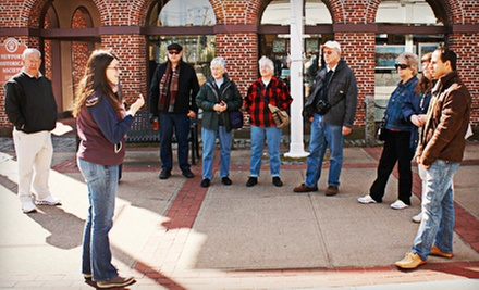 $12 for a Golden to Gilded or Discover Colonial Newport Tour for Two from Newport History Tours ($24 Value)