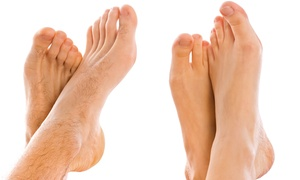 Laser Nail-fungus Removal At Laser Professionals (up To 77% Off). Three Options Available.