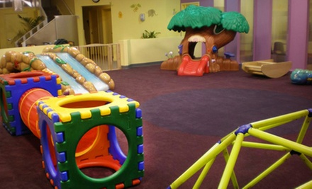 Eight-Hour Indoor-Playground Outing for One or Two Children at MoBu Kids in Falls Church, Virginia (Up to 57% Off)