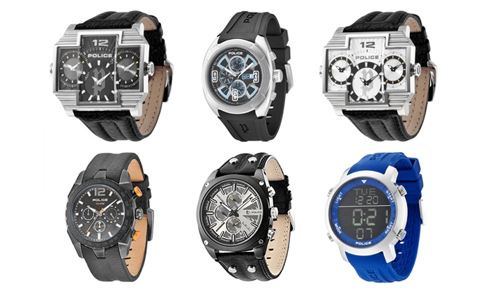 Groupon Goods: Police Watches from R999 Including Delivery (Up to 38% Off)