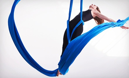 Adult Trampoline and Tumbling Class or Four Mother-Daughter Aerial Silk Classes at Legacy T&T (up to 56% Off)