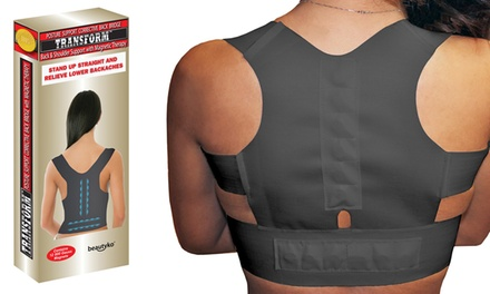 Posture Corrective Pro Therapy Back Brace with Magnets