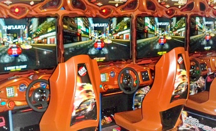 $25 for $50 Worth of Arcade Games at Jillian&#x27;s of Worcester