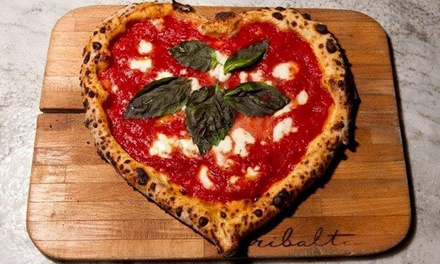 Build-It-Yourself Gourmet Pizza at piecraft pizza bar (Up to 50% Off). Four Options Available.
