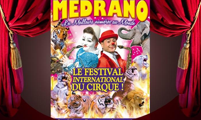 Arena Production - Cirque Medrano - Caen: 1 place en tribune d'honneur pour le cirque Medrano de Caen, Lisieux ou Bayeux à 10 €