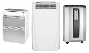 Haier Portable Air Conditioners (refurbished); 8,000-12,000btu