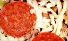 Oven-Ready Pizza, Pasta, and Italian Food at Papa Petrone's Take 'N Bake (Half Off). Two Options Available.