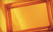 $29 for $129 Worth of Custom Framing at J. Reznik Studios
