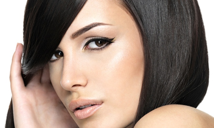 Inches Beauty Salon - Northwich: Semi-Permanent Make-Up For Eyebrows (£99) or Eyeliner (£119) at Inches (Up to 76% Off)