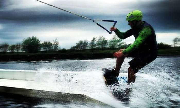 Blackpool Wake Park - Weeton: One-Hour Paddleboarding (£10) or Two-Hour Wakeboarding (£28) Lesson at Blackpool Wake Park (Up to 60% Off)