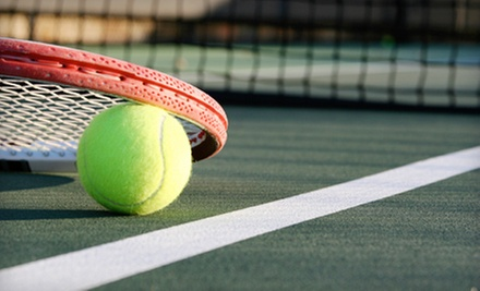 One, Three, or Five 60-Minute Private Tennis Lessons at Rollingwood Racquet Club (Up to 63% Off)