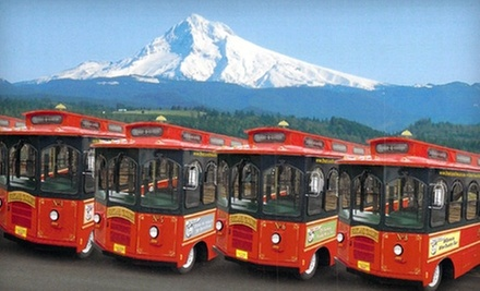 $39 for a Wine Country Tour with Tastings and Snacks from Portland Trolley ($78 Value)