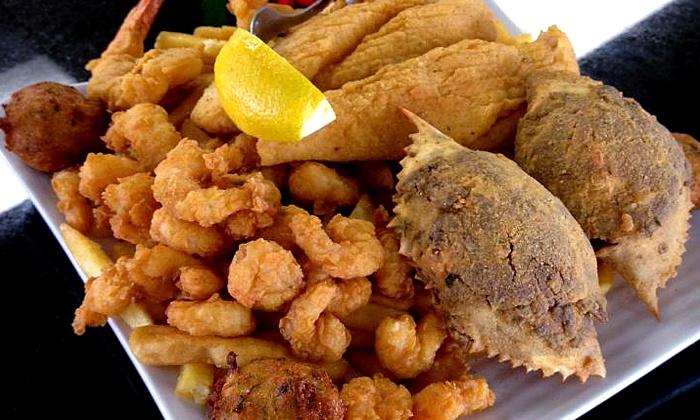 Fish bone grill dallas deal of the day groupon dallas for Fish bone grill menu