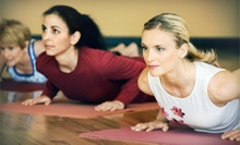 5 or 10 Yoga Classes at New England Tango & Yoga Academy (Up to 63% Off)