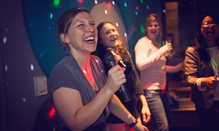 Two-Hour Private Karaoke Suite for Up to 16 People at Voicebox (Up to 50% Off). Two Options Available.