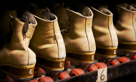Roller Skating and Skate Rental for Two, Four, or Six at Kentwood Fun Spot (Up to 58% Off)
