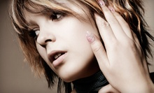 $68 for Haircut and Style with Moroccanoil Scalp Treatment and Highlights or Lowlights at Ruby Blu Salon ($136 Value)
