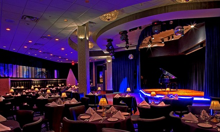 Dinner and a Show Date Night at The Carlyle Club (Up to 43% Off). Thursdays Available, September 18–November 20.