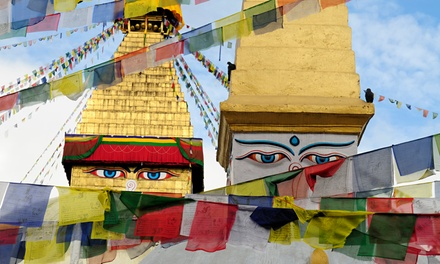 groupon daily deal - 8-Day Tour ofNepal fromBohemian Tours.Price per Person Based on Double Occupancy.