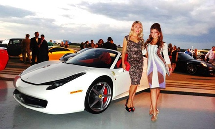 Cars &Couture Motorfest WeekendSpectator Admission or Driver Pass fromLuxe Fashion Group(41%)
