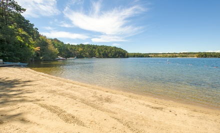 groupon daily deal - 2- or 7-Night Stay for Two Adults and Up to Four Kids 8 or Younger at Peters Pond RV Resort in Sandwich, MA