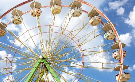 One-Day Admissions for Four People or One 10-Day Season Pass to Stanislaus County Fair (Up to 63% Off)