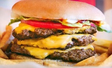 Burgers, Dogs, and Shakes for Two or Four at Wayback Burgers (Up to 54% Off)
