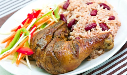 Jamaican Dinner or Lunch at De Palm Tree Restaurant (Up to 50% Off)