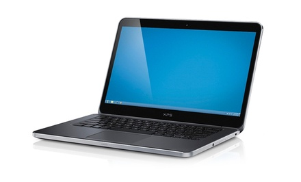 Dell XPS 14 Ultrabook Laptop with Intel Core i5-3337U Processor, 4GB RAM, and Hybrid Drive (Manufacturer Refurbished)