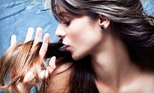 Haircut and Style with Options for Color or Partial Highlights at Rumours Salon & Spa (Up to 57% Off)