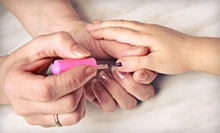 At-Home Mani-Pedis for Two or Four Girls or an At-Home Girls' Spa Party from My Lil' Princess Day Spa (Up to 56% Off)