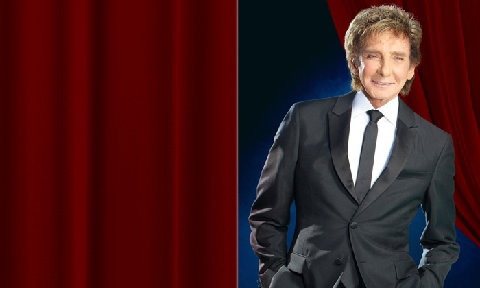 Barry Manilow at Wembley - Multiple Locations: Barry Manilow: Tickets from £30 at Wembley Arena or The O2 (Up to 40% Off) (Excl. £2.50 Booking Fee)