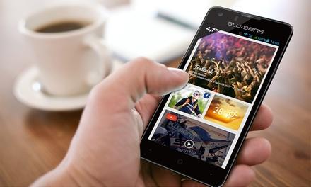 Smartphone BluSens de 4,7', Quad Core e Android 4.3 Jelly Bean por 179€