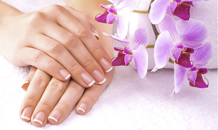 Sun Face Beauty Salon - Dubai: Nail Extensions with Manicure , Gel Polish & more starting from AED 99 at Sun Face Beauty Salon, JLT