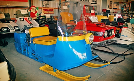 Visit to The Snowmobile Barn Museum for Two, Four, or Up to Eight (Up to 55% Off)