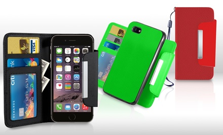 Wallet with Removable Case for Apple iPhone 6, 6 Plus, and 5/5s