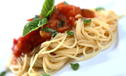 Italian Dinner Cuisine for Two or Four at Biscotti's Ristorante (Up to 50% Off)