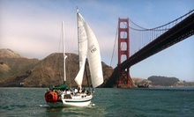 90- or 120-Minute Sailing Trip for Two with Drinks from San Francisco Sailing Company (Half Off)