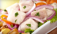 $20 for $40 for Peruvian Food and Drinks at Fusion Lounge &amp; Restaurant