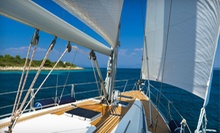 Three-Hour BYOB Trip for Up to Four Monday–Friday or Saturday–Sunday from B Sailing (Up to 55% Off)