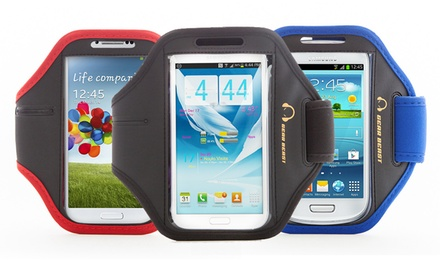 Gear Beast Sports Armband with Key Pocket for Samsung Galaxy Smartphones