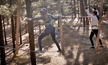Entry to Outdoor Obstacle Course with Ziplines for Two or Four at Flagstaff Extreme Adventure Course (Up to 53% Off)