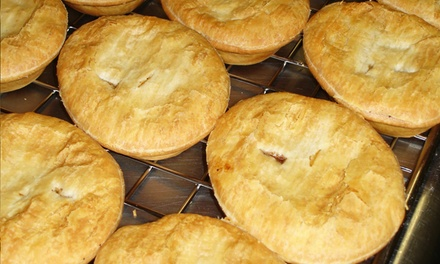 $6for $12 Worth of Aussie Meat Pies at The Australian Pie Company