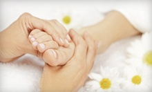 60-Minute Foot-Reflexology Treatment with Optional Hot-Stone Foot Treatment at Healthy Life Foot Spa (Half Off)