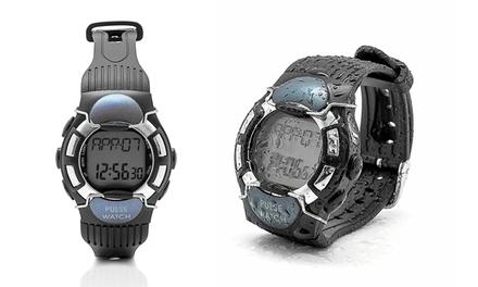 Relógio com monitor de batimentos cardíacos e contador de calorias por 19,90€