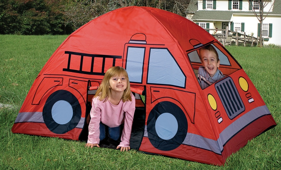 Posted Image  sc 1 st  GottaDeal.com Forums & Etna Kidsu0027 Fire-Truck Pirate-Ship or School-Bus Play Tent $14.99 ...